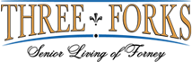 Three Forks Senior Living Forney Logo
