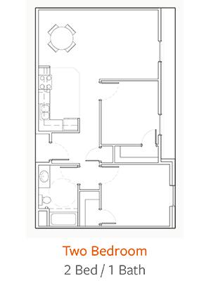 Trinity-Hills-Knoxville-Floor-Plan-2-Bed-1-Bath