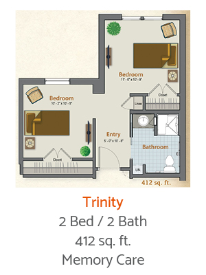 Three-Forks-Forney-Senior-Living-Banister-Floor-Plan-1-Bed-1-Bath