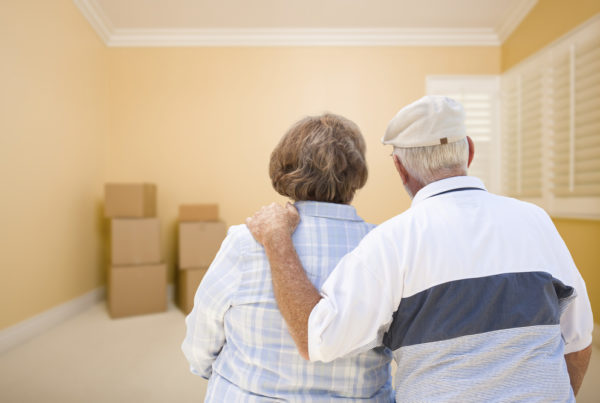 Moving into Senior Assisted Living Community