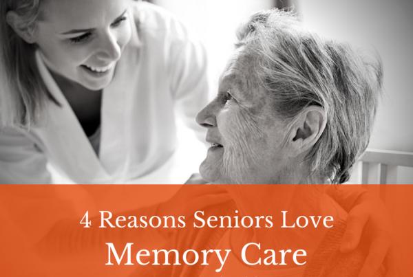 4 reasons seniors love memory care