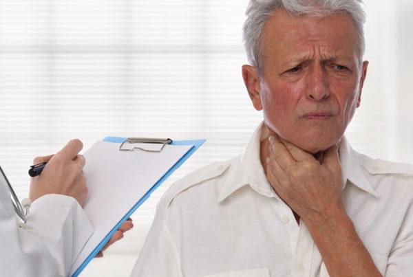 Elderly Man With Thyroid Problem